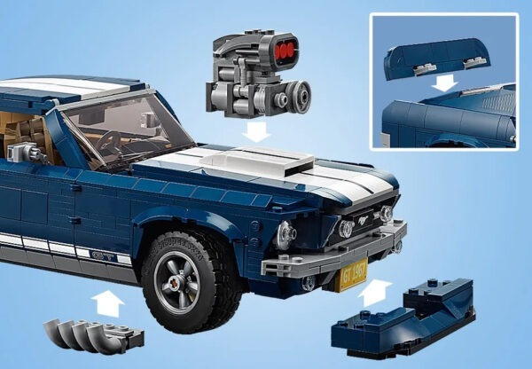 10265 Lego Ford Mustang front