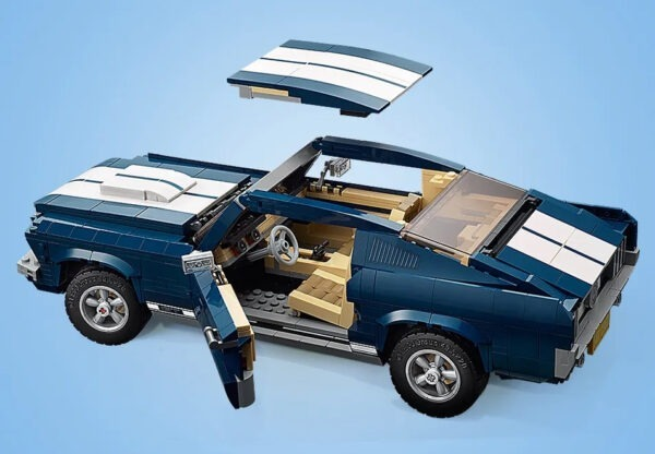 10265 Lego Ford Mustang top